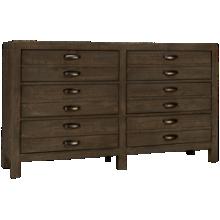Aspen Radiata 6 Drawer Dresser