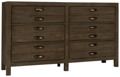 Aspen Radiata 6 Drawer Dresser