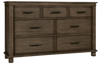 A America Glacier Point 7 Drawer Dresser
