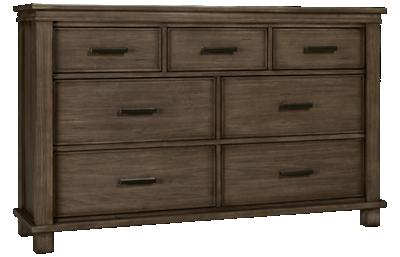 A America Glacier Point 7 Drawer Dresser