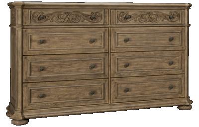 Klaussner Home Furnishings Cardoso 8 Drawer Dresser