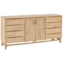 Magnolia Home Era 8 Drawer 2 Door Dresser