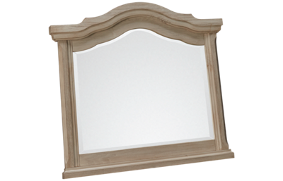 Vaughan-Bassett Rustic Hills Arched Landscape Mirror