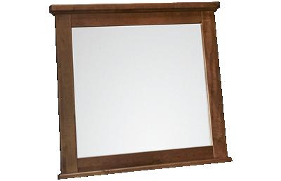 Vaughan-Bassett Cool Rustic Landscape Mirror