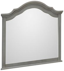 Vaughan-Bassett French Market Arched Mirror