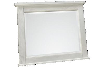 Vaughan-Bassett Sawmill Landscape Mirror
