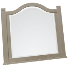 Vaughan-Bassett Bungalow Master Arched Mirror