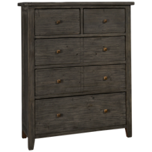 Four Hands Irish Coast 5 Drawer Tallboy Chest