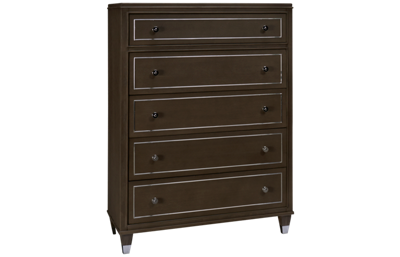 Riverside Dara Two 5 Drawer Chest