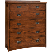 Intercon Oak Park 6 Drawer Chest