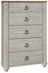 Ashley Willowton 5 Drawer Chest