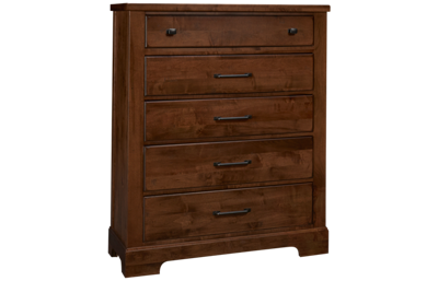 Vaughan-Bassett Cool Rustic 5 Drawer Chest