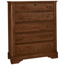 Vaughan-Bassett Scotsman 5 Drawer Chest