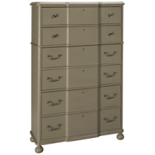 Universal Dogwood 6 Drawer Chest