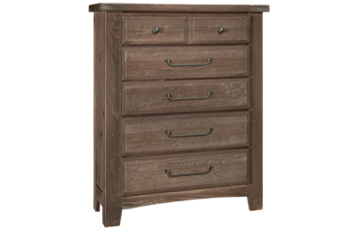 Vaughan-Bassett Sawmill 5 Drawer Chest