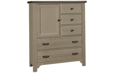 Vaughan-Bassett Bungalow 5 Drawer 1 Door Chest