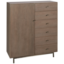 Universal Spaces 6 Drawer Tanner Chest