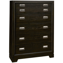 Aspen Front Street 5 Drawer Chest