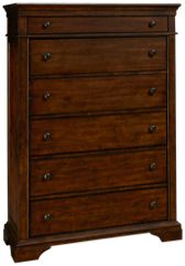 Klaussner Home Furnishings Trisha Yearwood Home Memphis 6 Drawer Chest