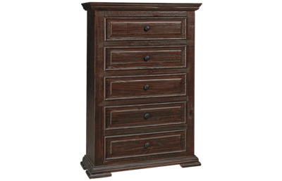 International Furniture Direct Terra 5 Drawer Chest