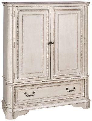 Liberty Furniture Magnolia Manor Liberty Furniture Magnolia Manor 2 Door, 1  Drawer Chest   Jordanu0027s Furniture