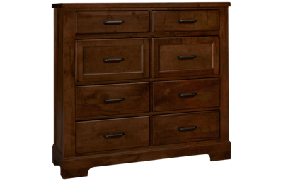 Vaughan-Bassett Cool Rustic 8 Drawer Chest