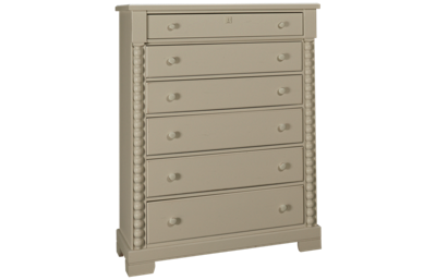 Vaughan-Bassett Scotsman 6 Drawer Tall Chest