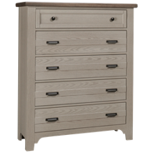 Vaughan-Bassett Bungalow 5 Drawer Chest