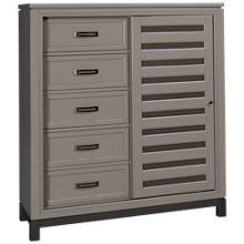 Aspen Hyde Park Chest with Sliding Door