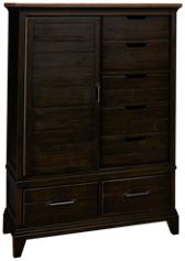 Kincaid Plank Road 7 Drawer 1 Door Wheeler Chest