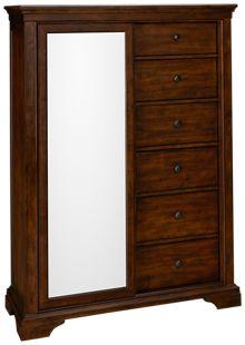 Klaussner Home Furnishings Trisha Yearwood Home Tulsa 6 Drawer, 1 Door Chest