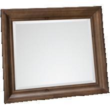 Vaughan-Bassett Rustic Hills Shadowbox Mirror