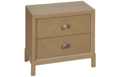 Casana Sarah Richardson Vista Nightstand 2 Drawer with USB