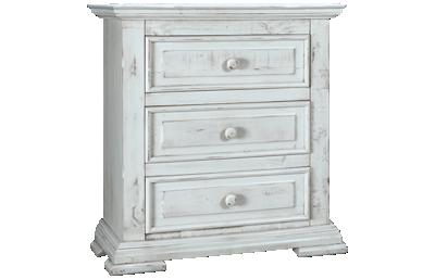 International Furniture Direct Terra 3 Drawer Nightstand
