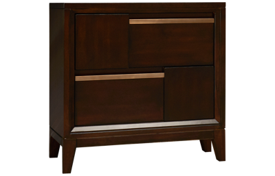 Magnussen Geometry 2 Drawer Nightstand