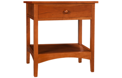 A America  Cherry Garden 1 Drawer Nightstand