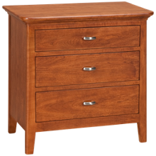 Kincaid  Cherry Park 3 Drawer Nightstand
