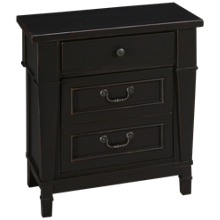 Folio 21 Furniture Ravenswood 3 Drawer Nightstand