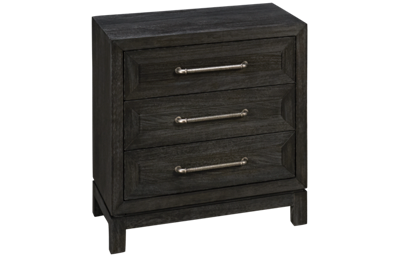 Klaussner Home Furnishings City Limits 3 Drawer Nightstand
