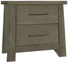 Ligna Furniture Driftwood 2 Drawer Nightstand