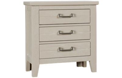 Vaughan-Bassett Passageways 3 Drawer Nightstand