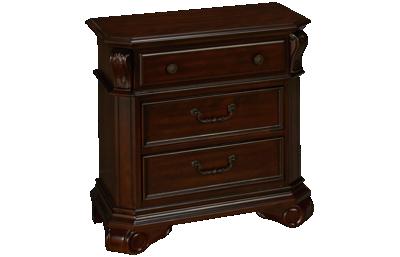 New Classic Home Furnishings Emilie 3 Drawer Nightstand