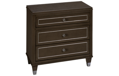 Riverside Dara Two 3 Drawer Nightstand