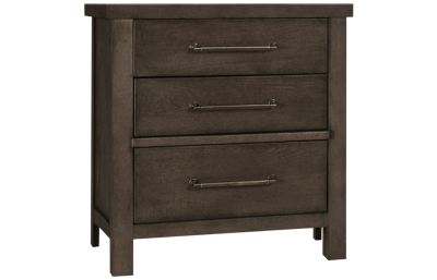 Liberty Furniture Farmhouse 3 Drawer Nightstand