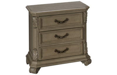 Liberty Furniture Messina Estates 3 Drawer Nightstand