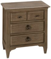 Riverside Myra 3 Drawer Nightstand
