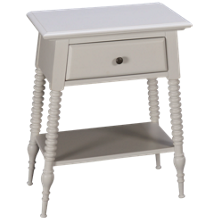 Riverside Myra 1 Drawer Nightstand