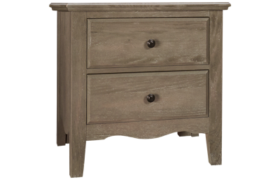 Vaughan-Bassett Casual Retreat 2 Drawer Nightstand