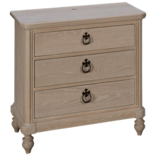 Universal Cottage 3 Drawer Nightstand