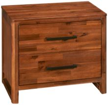 Cresent Fine Furniture Waverly 2 Drawer Nightstand